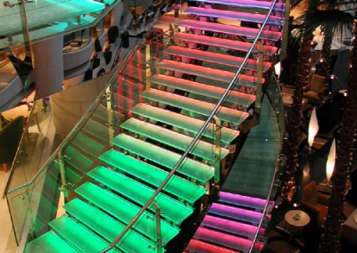 Westin Color Kinetics Stairs